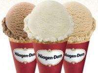 Free scoop at Haagen-Dazs ice cream shops