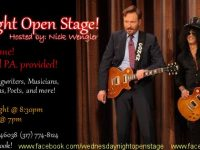 Share your talents at the Claude and Annie's open stage