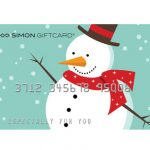 FREE gift cards at Simon Malls today