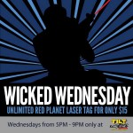 Tilt Studio's Planet Laser Tag Wicked Weekdays deal