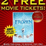 FREE tickets to see Frozen at Latitude 39 Cinegrille