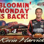 Kevin Harvick wins a FREE Bloomin' Onion at Outback