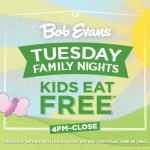 Bob Evans expands its Kids Eat FREE deal