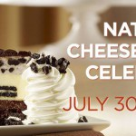 Celebrate National Cheesecake Day twice with the Cheesecake Factory
