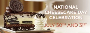 National Cheesecake Day