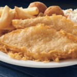Free fish and fries at Long John Silver's