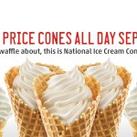 Ice Cream Cone Day means half-price at Sonic