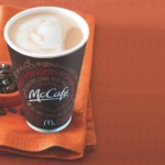 Last week for FREE coffee at McDonalds