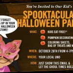 Don't miss the Uno Spooktacular Halloween Party